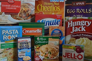 Boxed foods