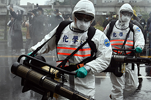 China pandemic recover