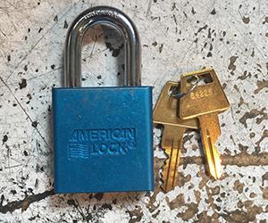 American Lock Pad Locks