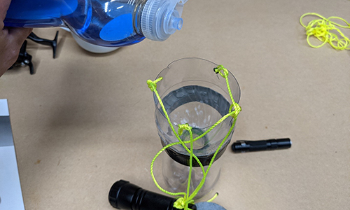 Easy DIY Light Trap For Insect Pests
