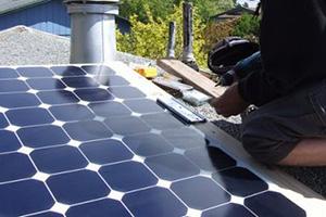solar panels power